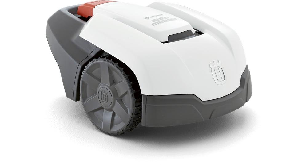 rasenroboter automower305 von husqvarna die ersten bilder. Black Bedroom Furniture Sets. Home Design Ideas