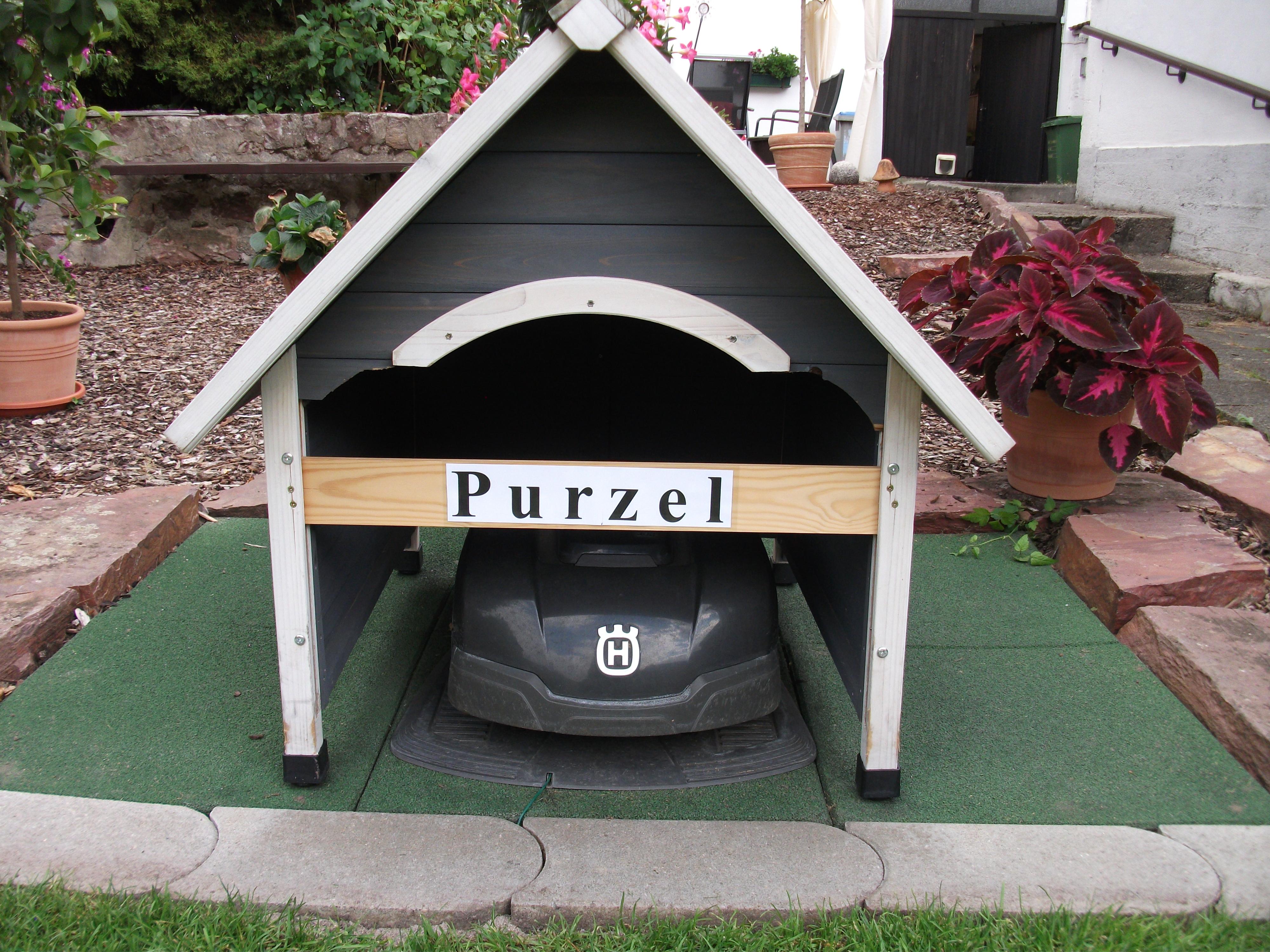 Garage Selbstbau Set : Garage für den automower selbst bauen oder kaufen