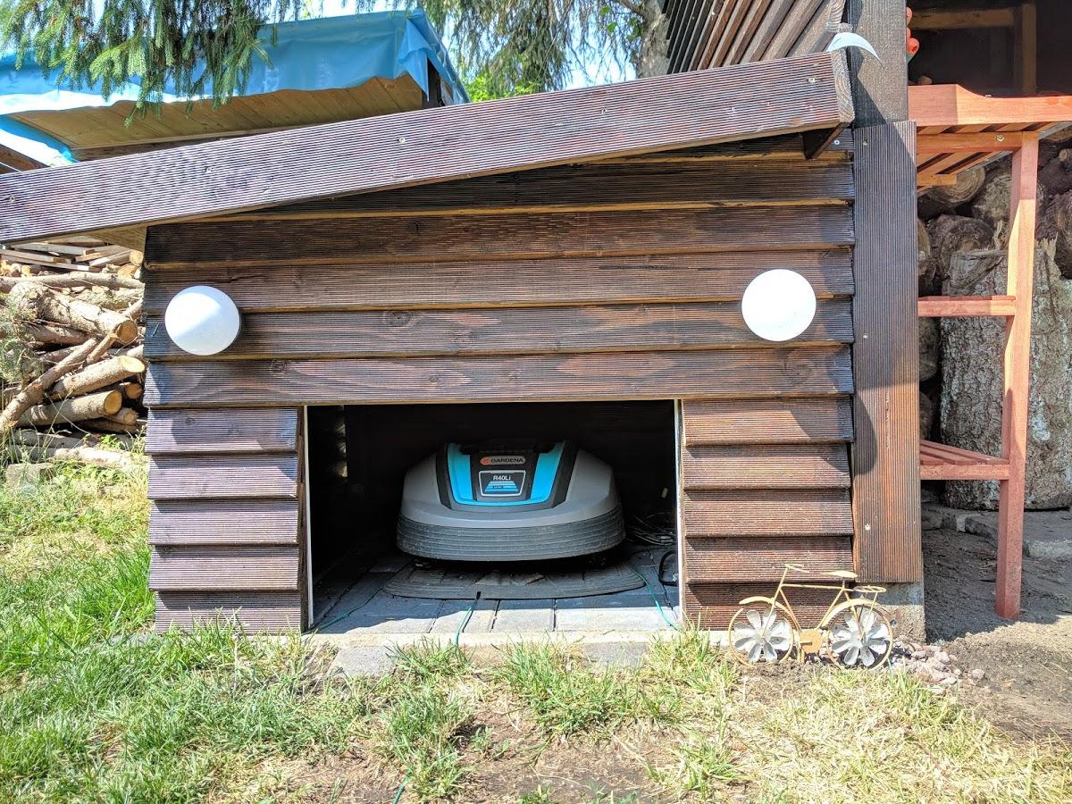 Garage Fur Den Automower 305 Selbst Bauen Oder Kaufen