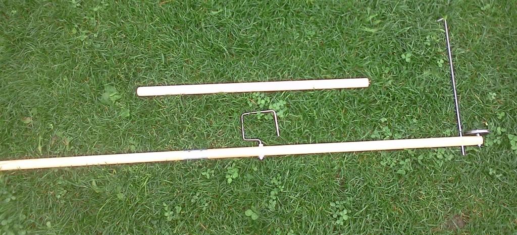 Rasenroboter-Verlegehilfe ohne Kabel