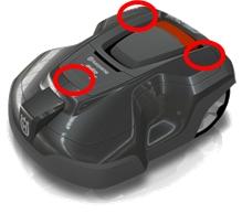 Automower-310-315-Gehaeuse-Schnellverschluss