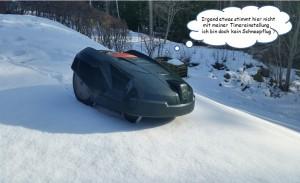 wetzel-Schneepflug-Automower