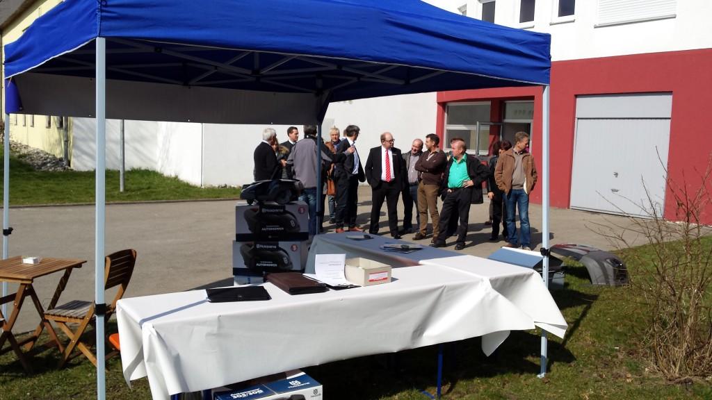 Automower-Live-Präsentation-Leistungsschau-Allmendingen