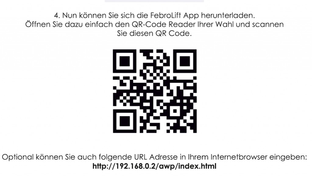 QR-Code-Rasenroboter-Tiefgarage-App