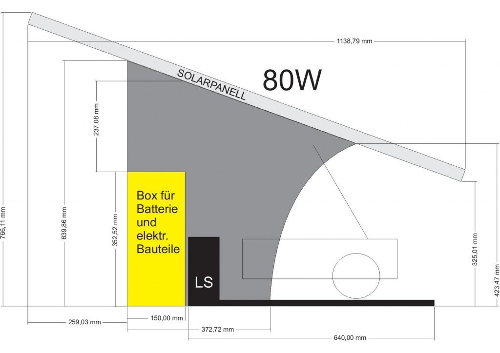 Solar Garage Geruest