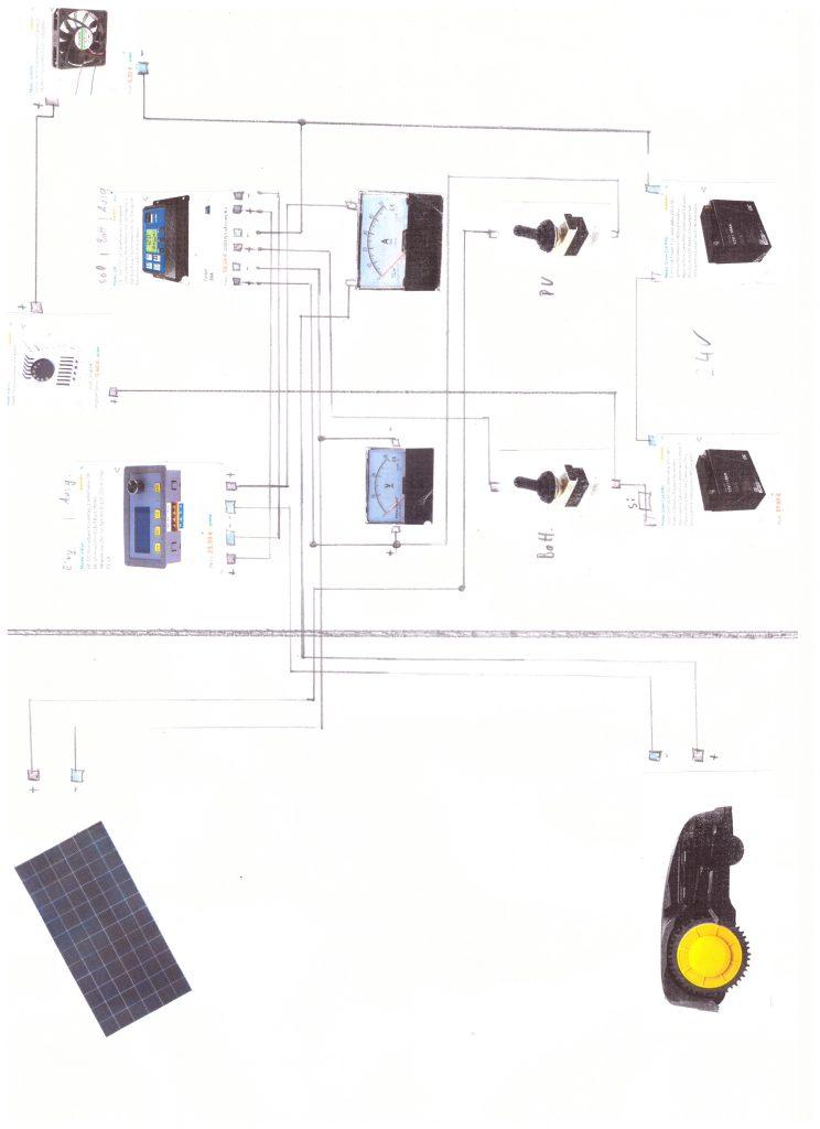 PV-Anlage-Schaltskizze