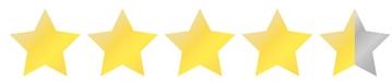 Schnittbild 4,5 Sterne