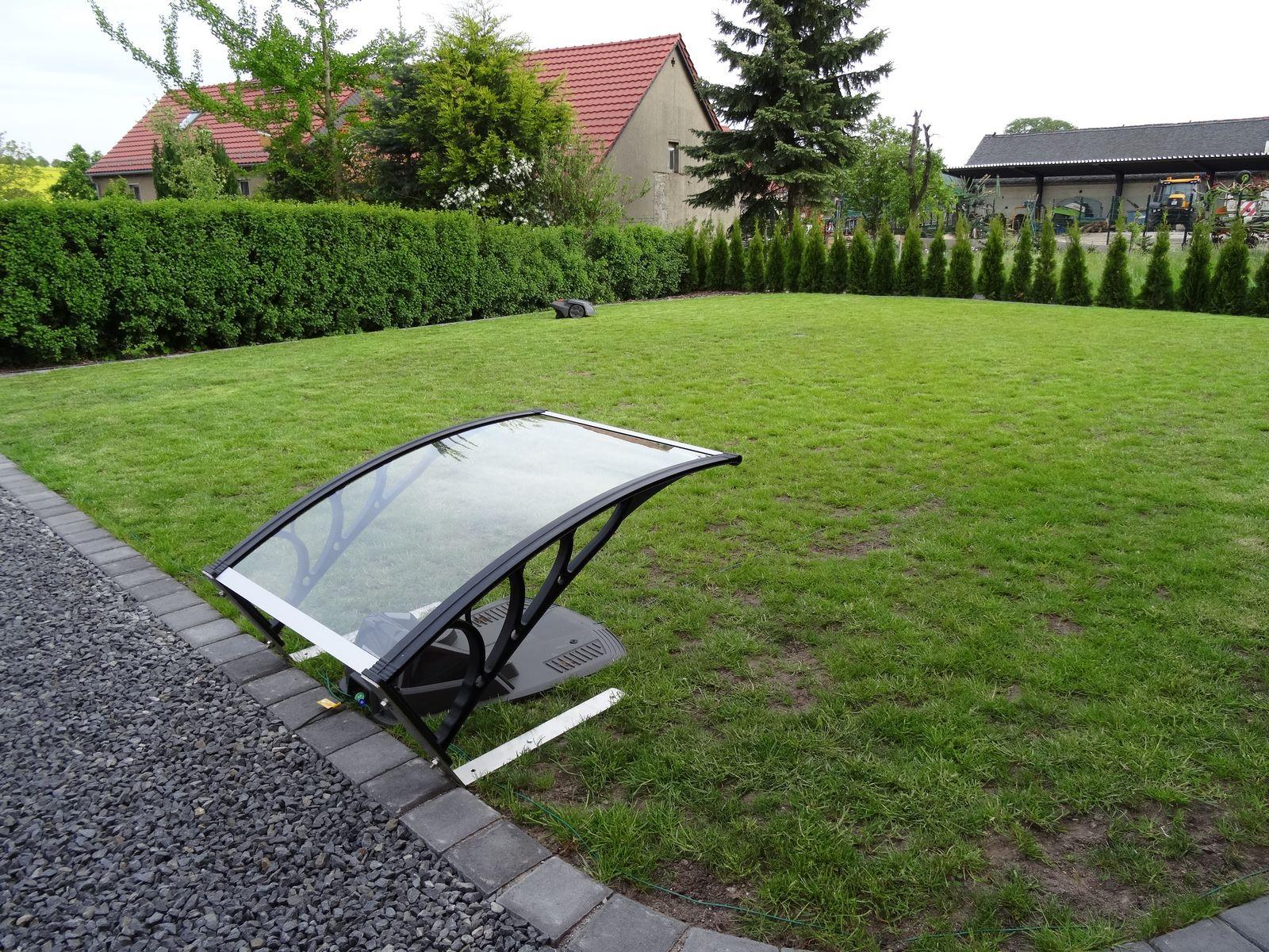 Unglaublich Alternative Zu Rasen Dekoration Von Automower-garage Dach Befestigen 1