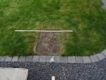 Automower-Garage Dach befestigen 4