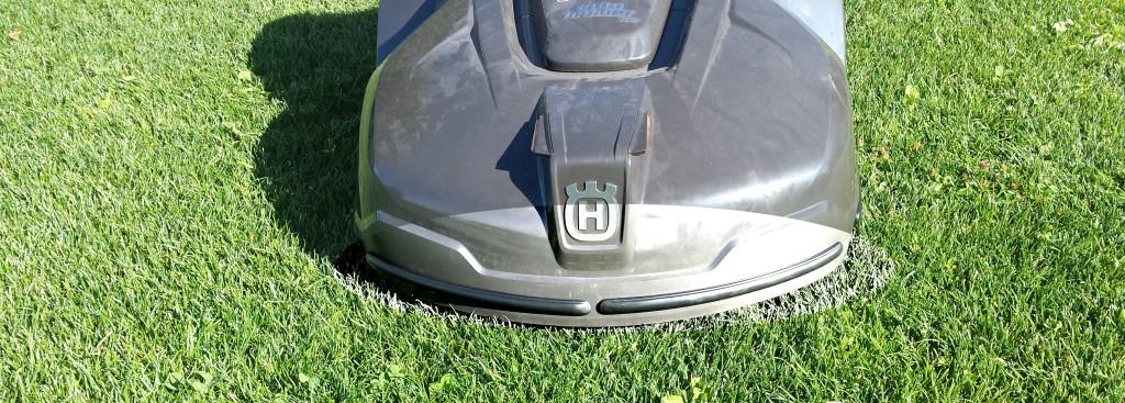 Automower 420 mit Bumper vorne