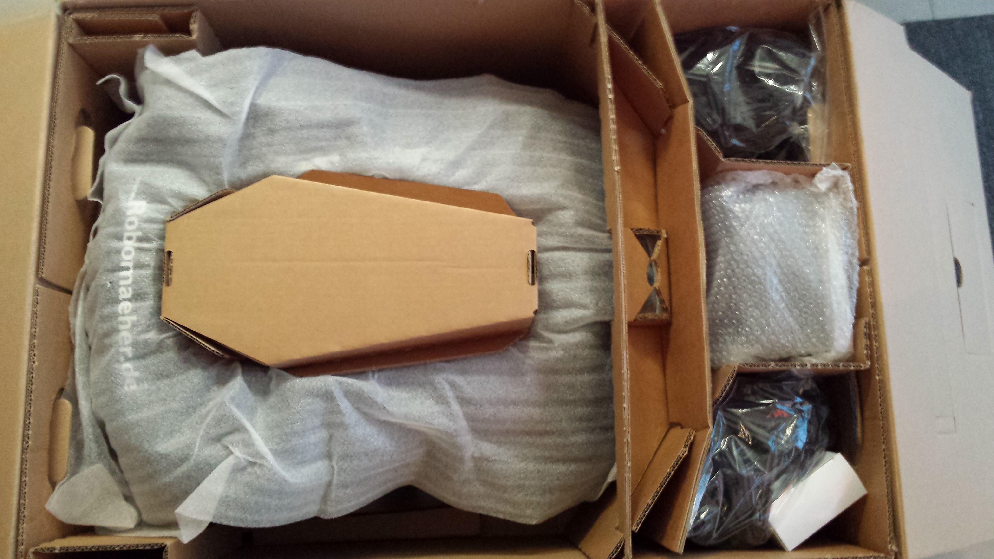 Automower-Verpackung