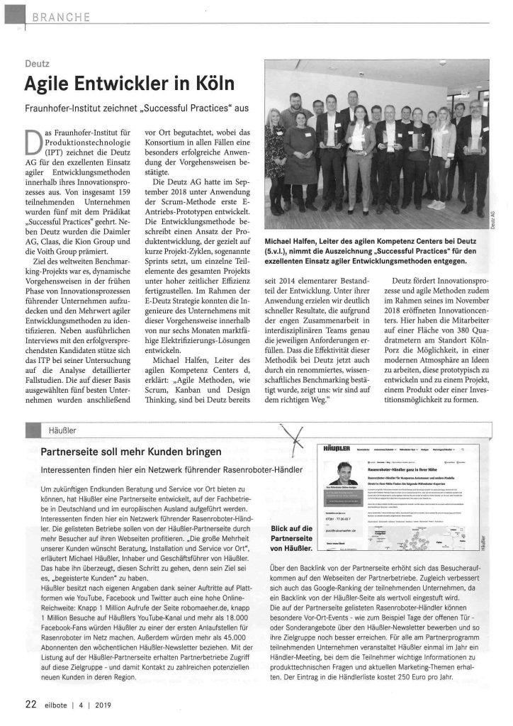 Eilbote-Pressemitteilung-Partnerseite