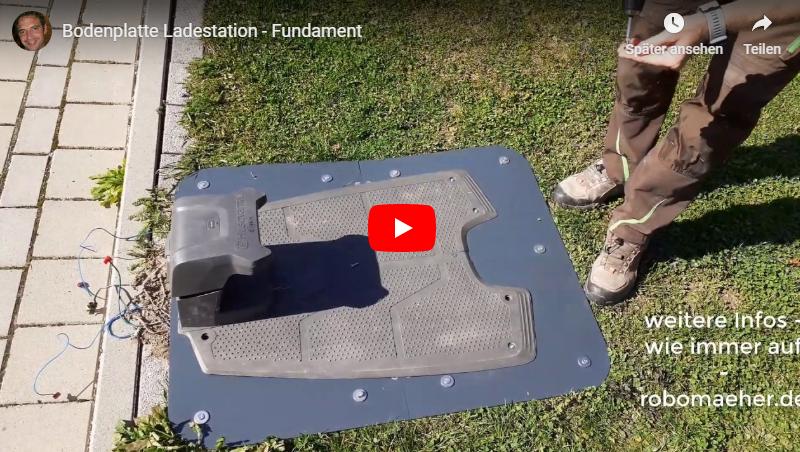 Kunststoff-Fundament für Ladestation
