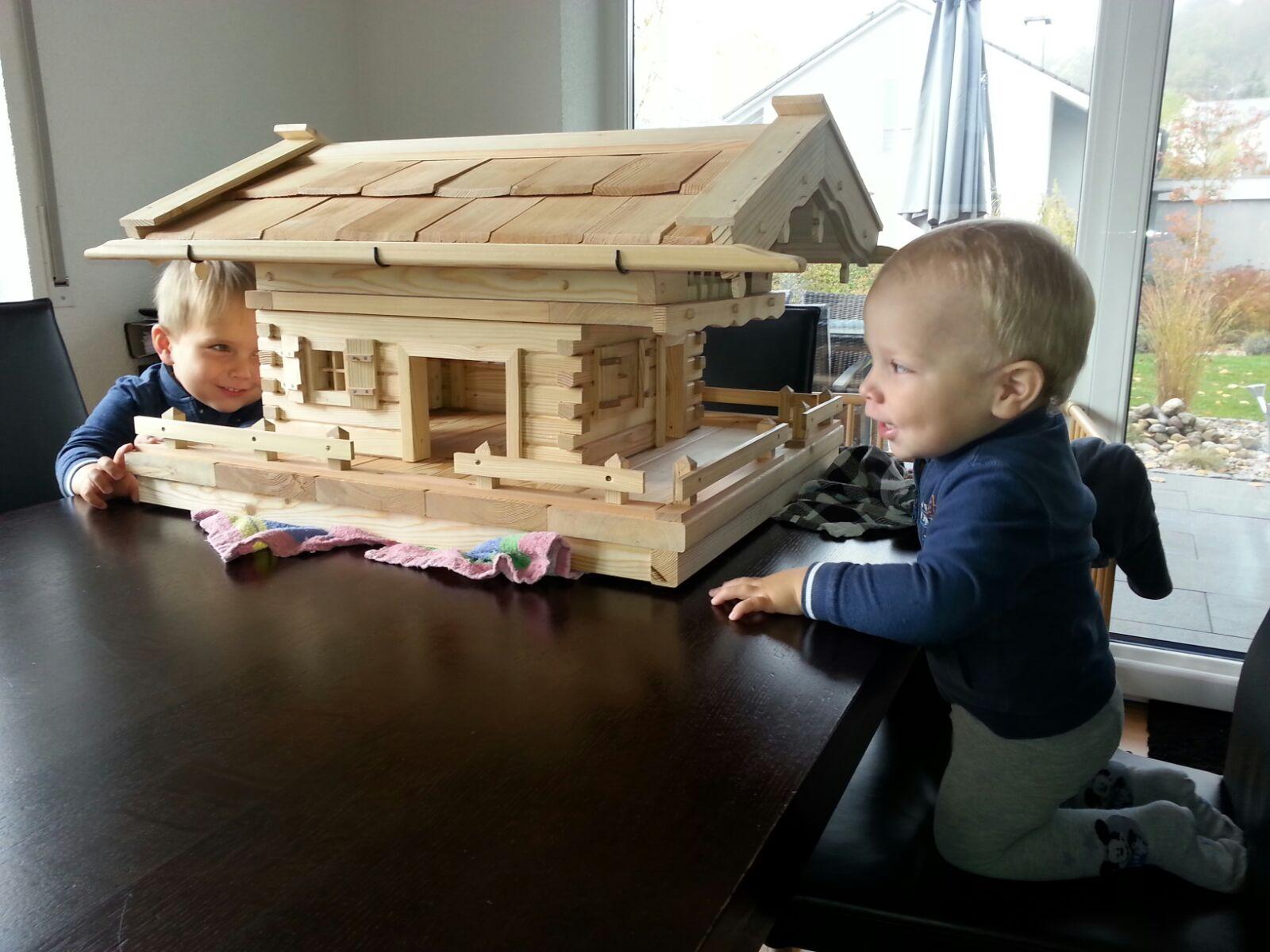 Vogelhaus kinderleicht bauen